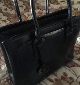 Кожаная сумка Michael Kors (реплика)