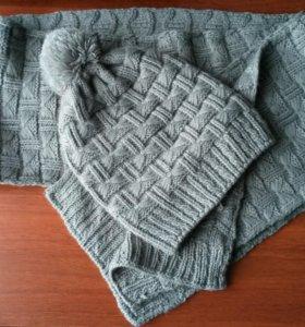 Комплект (шапка +шарф)