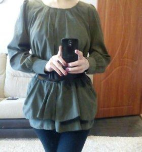 Блузка с ремешком