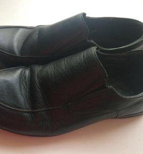 Туфли на мальчика 36 размер кожаные