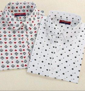 Новые хлопковые рубашки