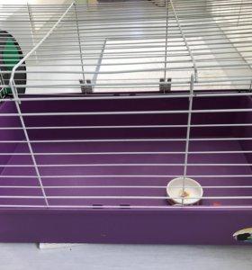 Клетка для кроликов, шиншилл, хорьков и ежей