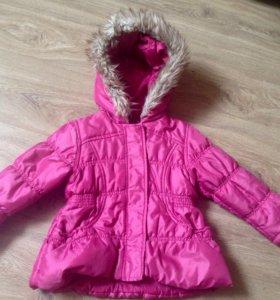 Куртка на девочку мазекея 2-3 года