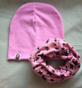 Весенние шапочки и снуды