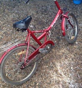 Велосипед подростковый складной