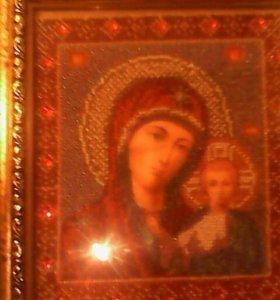Икона казанской марии