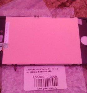 Айфон 4s точкрин дисплей и рамка