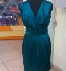 Платье вечернее шёлк 100% размер M