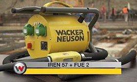 Wacker Nauson преобразователь и вибратор.