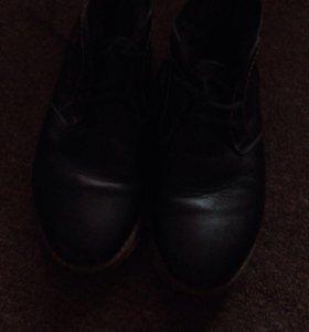 Зимние ботинки .