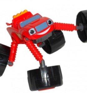 вспыш машинка робот