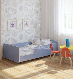 Новая детская кровать на колёсиках Легенда 24