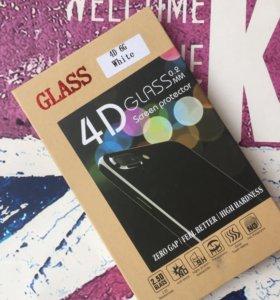 Защитные стёкла 4D,5D для iPhone 6/6s/7