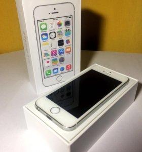 iPhone 5s 16 гб (серебристый)