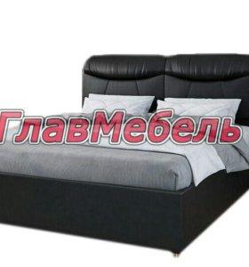 Кровать из экокожи 140*200