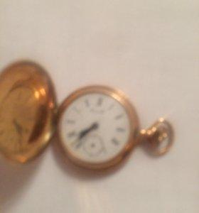 Женские карманные часы из золота