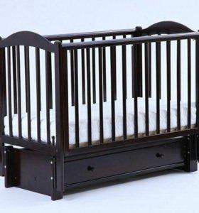 кроватка детская кубаньлесстрой