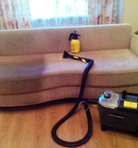 Химчистка мягкой мебели и автомобилей