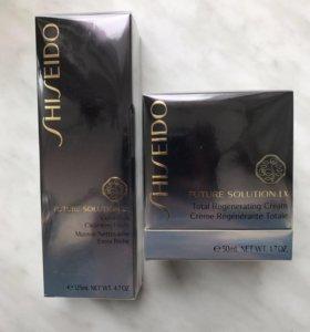 Набор ухода Shiseido Solution LX крем+пенка