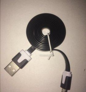 кабель зарядки microUSB