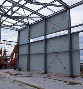 Склады, гаражи, металлоконструкции