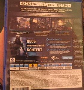"""игры для ps4 (Watch dogs """"полное издание"""")"""