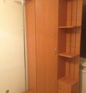 Шкаф угловой для прихожей