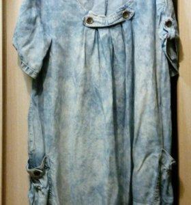 Платье джинсов.