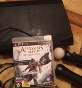 Продам PS 3. +2 контролера+камера+джойстик+диск