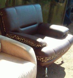 Кресло новое ЭКО-кожа