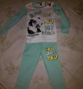 Продаю детский домашний костюм (пижама), размер 86