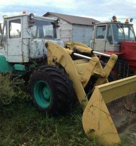Трактор Т-150к с отвалом