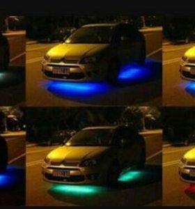 Установка светодиодной, неоновой...подсветки