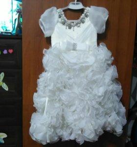 Выпускное платье. 6-7 лет.
