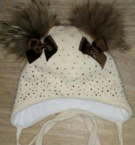 Зимняя шапочка Woolmark