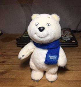 Мягкая игрушка Медведь Сочи Олимпиада 2014