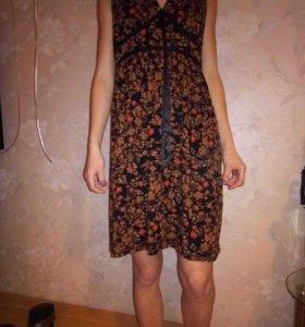 Домашнее удобное платье.)Состояние отличное