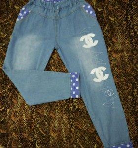 Продаю джинсы на резинке (можно для беременных)