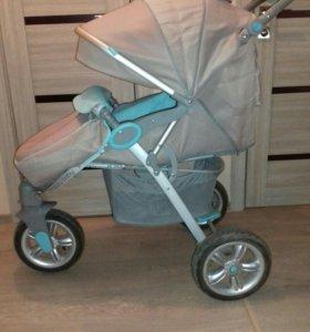 Прогулочная коляска happy baby neon sport