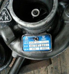 Турбина на фольксваген 1.6дизель