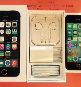 iPhone 5s на 16gb Space grey идеал