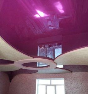 Натяжные потолки КБР