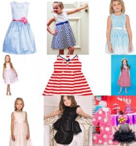 Новые платья от 80 до 110 размеров