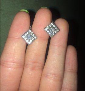 Серебрянные серьги