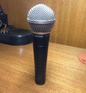 динамический микрофон shure sm58 оригинал