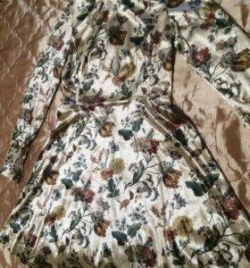 Платье Zara Basic новое, под бархат