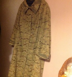 Плащ-Пальто женский размер 60+