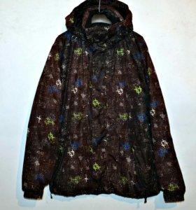 Демисезонная мужская фирменная куртка
