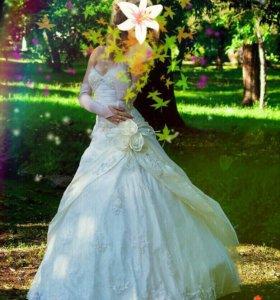 💍 👗 Свадебное счастливое платье (не Китай!)