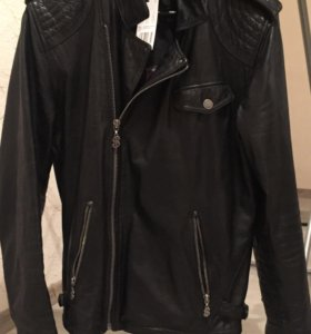 Кожаная куртка Pepe Jeans (Andy warhol)